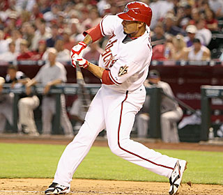 Felipe Lopez hits one homer from the left side then crushes another right-handed.  (Getty Images)