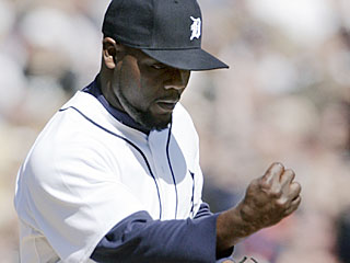 Fernando Rodney strikes out the side and earns his first save of the season.  (AP)