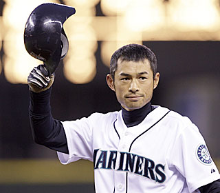 Despite the loss, Ichiro Suzuki breaks the Japanese hits mark, collecting his 3,086th career hit.  (AP)