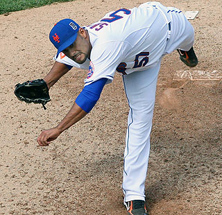 Mets ace Johan Santana has allowed just one run in 19 2/3 innings this season.