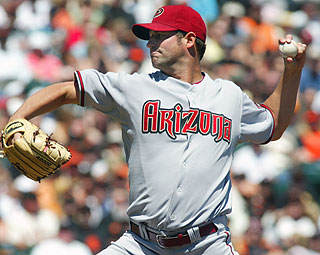 Diamondbacks lefty Doug Davis strikes out six in eight shutout innings. (AP)