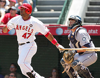 Howie Kendrick has a fine outing at the plate as he racks up a career-best four RBI.  (US Presswire)