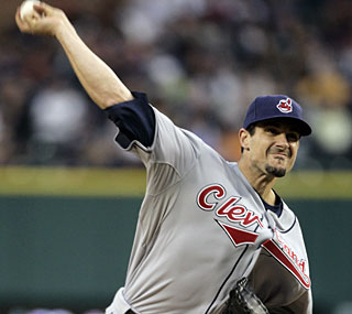 Carl Pavano turns in his longest outing since 2005 and earns his first win of the season.  (AP)