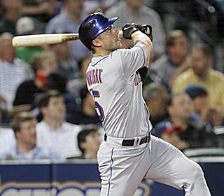 David Wright follows Carlos Beltran's first two-run homer with one of his own in the sixth inning.  (AP)