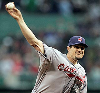 It has been awhile, but Cleveland's Carl Pavano finally has put two effective starts together.  (AP)