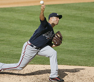 After two straight dismal outings, Javier Vazquez strikes out seven and gives up four hits. (US Presswire)