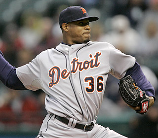 Edwin Jackson is doing well with the Tigers. He wins his second game and lowers his ERA to 2.60 (AP)