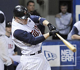 Four hours and 48 minutes after the first pitch, Joe Crede launches the final one into the seats.  (AP)