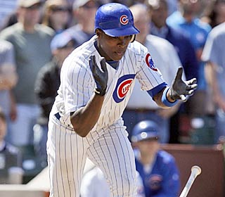 Alfonso Soriano saves the Cubs from a demoralizing loss by driving in the winner in the ninth.  (AP)