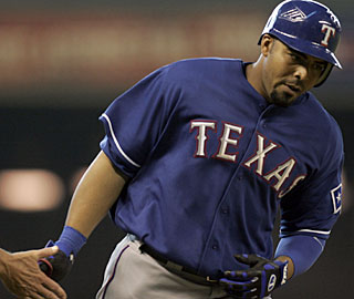 Less than 24 hours after going deep, Nelson Cruz swings away for a couple of more dingers. (US Presswire)