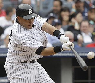 Melky Cabrera helps the Yanks win for the 17th time in their past 22 by hitting a two-run shot.  (AP)