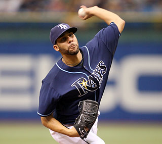 Struggling recently, David Price allows just one run in 6 1/3 innings.  (US Presswire)
