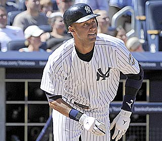 'We're playing well,' Derek Jeter says after the Yankees move 15 games above .500.  (AP)