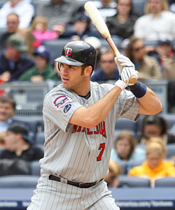 Joe Mauer enters the second half with a .373 batting average. (Getty Images)