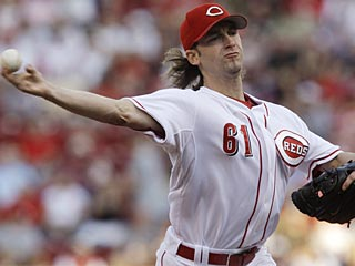 Bronson Arroyo follows his season-best four-hitter by allowing six hits in seven innings.  (AP)