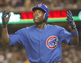 So much for being limited by a finger injury. Alfonso Soriano's clutch HR in the sixth proves he's just fine.  (AP)