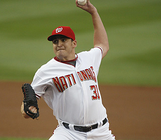 John Lannan scatters seven hits and throws the first Nationals CG shutout in almost three years.  (AP)