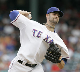 Dustin Nippert and the Rangers add another notch to the Red Sox's season-high losing streak.  (AP)