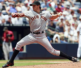 'It's definitely nice to get the team back on the right track,' Barry Zito says after his sixth win. (AP)