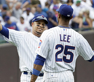 Aramis Ramirez does his damage but has help from Derrek Lee, who hits a homer of his own. (AP)