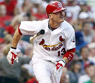 Brendan Ryan goes 4 for 4 and ups his average to .286 to help the Cards shake off a 2-5 trip.  (AP)