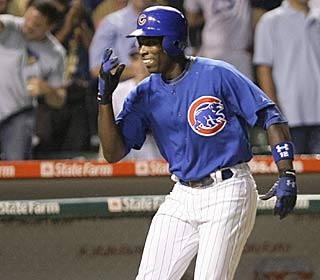 Alfonso Soriano's only hit in six at-bats is a big one: his fourth career grand slam.  (AP)
