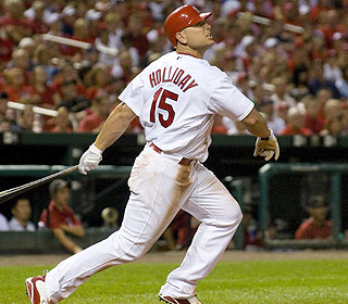 How long can Matt Holliday keep this pace up? He's hitting .586 since joining the Cardinals. (US Presswire)