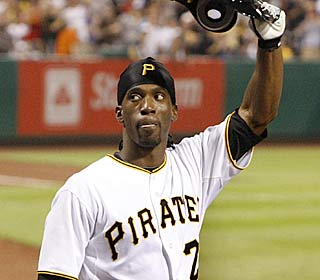 Andrew McCutchen doubles his home run total after crushing three blasts and driving in six.  (AP)