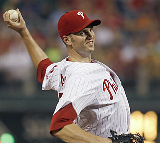 J.A. Happ notches a career-high 10 strikeouts while earning his second shutout of the season.  (AP)