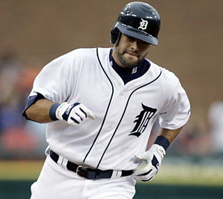 Alex Avila, son of Tigers vice president and assistant GM Al Avila, finishes the night with four RBI.  (AP)