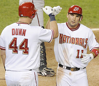 A big part of the Nationals' surge is Ryan Zimmerman, who homers in his fourth straight game. (AP)