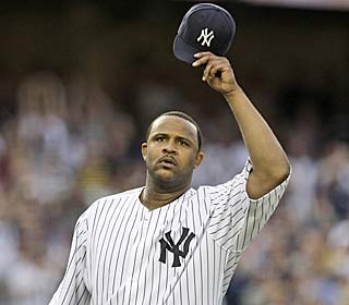 CC Sabathia picks up his 12th win by throwing 7 2/3 shutout innings and striking out nine.  (AP)