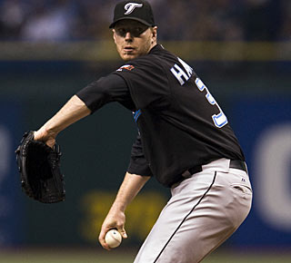 Roy Halladay was 0-2 in three previous starts against the Rays this season. (AP)