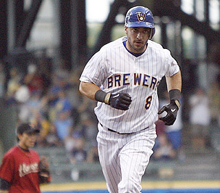 Ryan Braun's bat sends shockwaves at Miller Park. He has 25 homers and is hitting .315. (AP)