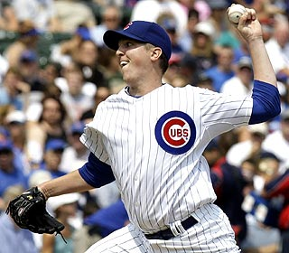 Tom Gorzelanny K's eight over five innings and also has an RBI for Chicago. (AP)