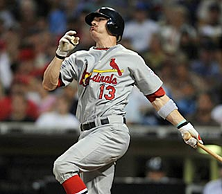 Brendan Ryan's first career grand slam turns out to be the margin of victory for St. Louis.  (US Presswire)