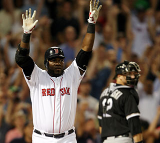 David Ortiz knows it right away after smashing the 10th game-ending home run in his career.  (Getty Images)