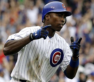 Alfonso Soriano hits a tiebreaking three-run homer -- his first since July 29 -- in the eighth ...