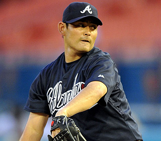 Kenshin Kawakami yields just one run on six hits and no walks, while striking out five.  (US Presswire)