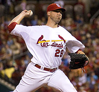 Against the NL Central, Chris Carpenter improves to 9-0 with a 1.99 ERA this season.  (US Presswire)