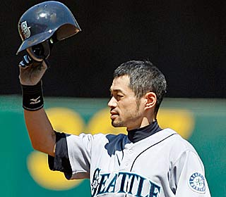 Ichiro Suzuki becomes the 259th player and second fastest to reach 2,000 career hits.  (AP)