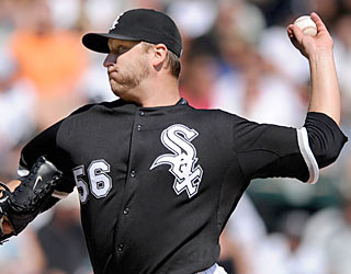 Believe it or not: Mark Buehrle earns his first victory since his perfect game on July 23.  (AP)
