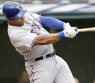 Marlon Byrd (pictured in Game 1) goes 3 for 5 in the second game to finish with seven total hits. (AP)