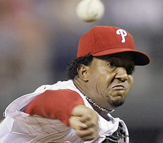 'If I'm healthy, I feel like I'm able to do anything anybody does,' Pedro Martinez (5-0) says.  (AP)