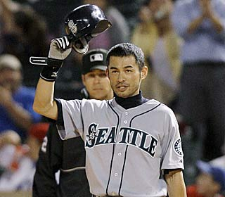 'To get to enjoy this with these teammates ... makes me very joyful,' Ichiro Suzuki says.  (AP)