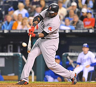 David Ortiz puts an exclamation point on Boston's victory with a three-run roundtripper.  (US Presswire)