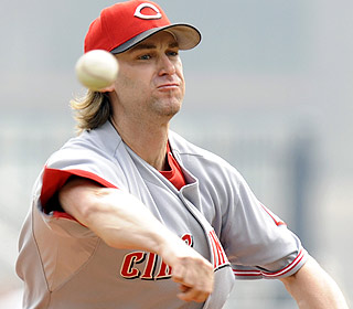 Bronson Arroyo allows one run over seven innings as the Reds beat the Pirates for the eighth straight time. (AP)