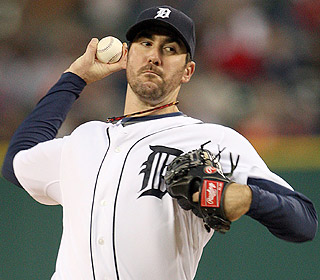 Justin Verlander is a workhorse. He throws a season-high 129 pitches and earns his 18th victory. (US Presswire)