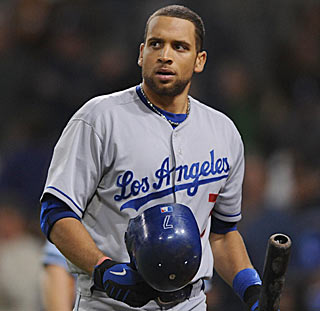 James Loney and the Dodgers seem befuddled after their latest loss to an NL lesser light.  (US Presswire)