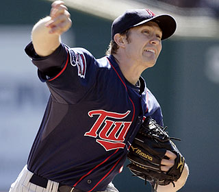 Scott Baker gives the Twins five solid innings to help stall a Detroit celebration. (AP)